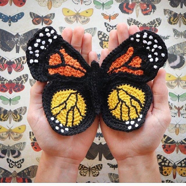 Easy And Glamour Free Crochet butterfly for Granny square New Skills – Page 4 of 53 – Beauty Crochet Patterns!