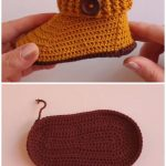 Easy Crochet Baby Booties Free Pattern And Tutorial