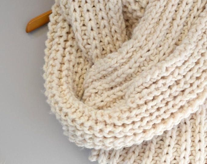 Easy Knit Blanket Pattern, Knit Throw Pattern, Easy Heirloom Knitting Pattern, Knit Blanket Pattern, Cream Grey Knitting Pattern, Lapghan