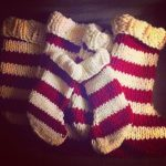 Easy Knit Christmas Stocking Pattern!