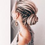 Elegant Prom Updo Wedding Hairstyles for Medium length Hair Latest Fashion Trends for Women sumcoco.com