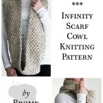 {FREE} EVERLASTING Infinity Scarf Cowl Knitting Pattern - Brome Fields