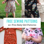 FREE PATTERN ALERT:20+ Free Baby Girl Patterns - On the Cutting Floor: Printable pdf sewing patterns and tutorials for women | On the Cutting Floor: Printable pdf sewing patterns and tutorials for women