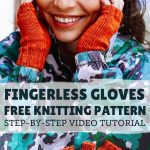 Fingerless Gloves Knitting Pattern (Step-by-Step Tutorial) - Sheep and Stitch
