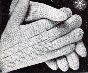 Free Adult Gloves & Mittens Knitting Patterns