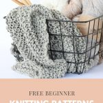 Free Beginner Knitting Patterns