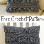 Free Crochet Pillow Patterns,Crazy Freaky Fringe Pillow-The possibilities are en...