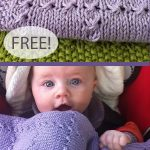 Free Knitting Pattern for Easy Holding Hands Baby Blanket
