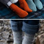 "Free Knitting Pattern for Easy ""Learn to Knit"" Rye Light Socks"