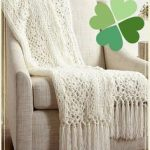 Free Pattern Friday: Irish Lace Afghan from Yarnspirations - Stitch and Unwind