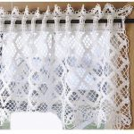 [Free Patterns] 8 Beautiful And Easy To Crochet Curtain Patterns For Kitchen - Knit And Crochet Daily