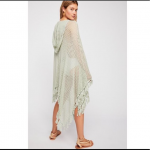 Free People Sand and Sea Crochet Poncho NWOT Free People Sand and Sea Crochet Po...