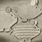 Free three little pigs potholders pattern - easy step-by-step instructions   inc...