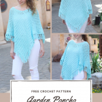 Garden Poncho - Free Crochet Pattern — Hooked On Tilly