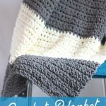 Granite Crochet Throw Blanket Pattern - Easy Crocheted Throw