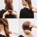 Hairstyle idea easy to do in 10 minutes to save time