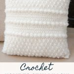 Home To Stay Crochet Pillow Pattern