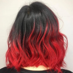 How to Style Black Hair with Red Tips - 6 Amazing Ideas – WeTellYouHow