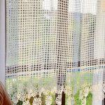 Items similar to Curtain Crocheted curtain Crochet curtain on Etsy