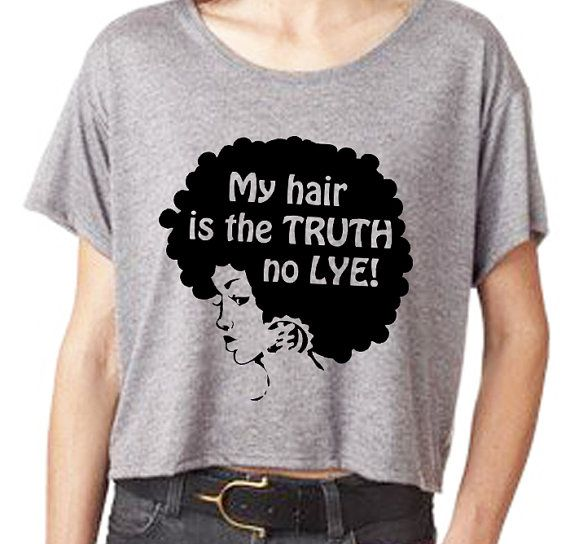 Items similar to Natural Hair Tshirt- No Lye Boxy T-shirt  (S,M,L,XL,) on Etsy
