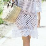 Items similar to Sexy crochet tunic PATTERN, beach crochet tunic PATTERN, CHART and basic instructions in English, charts are not interpreted in words! on Etsy