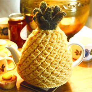 Knit a pineapple teacosy: free pattern