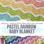 Knitted Baby Blankets Free Patterns - Free Crochet Patterns