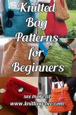 Knitted Bag Patterns for Beginners