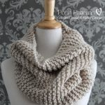 Knitting PATTERN - Easy Knit Cowl Pattern - Infinity Scarf