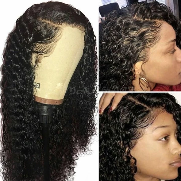 Lace Front Black Wig best black wigs online 613 with black roots