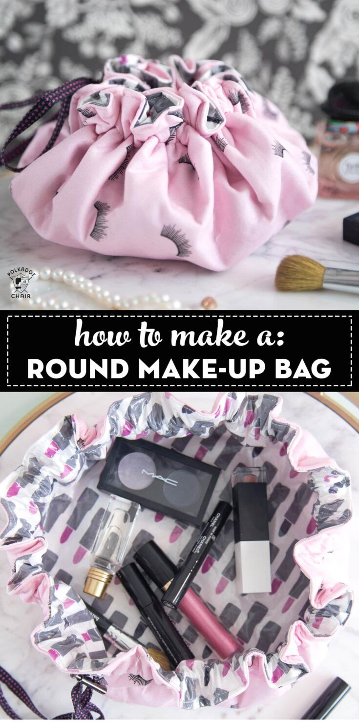 Laminated Drawstring Bag Tutorial | WeAllSew