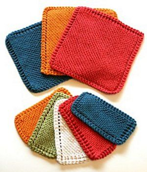 Learn a New Stitch with 6 Easy Knitted Dishcloth Patterns – Stitch and Unwind