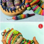 Loom Knitting TIny Dolls Toys {Video - Stricken Ideen
