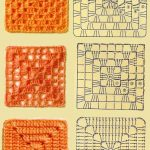 MY FAVORITES KNIT-CROCHET: Tutorials: 50 grids of crochet squares
