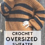 Make This Cozy Calico Crochet Sweater Pattern Over The Weekend!