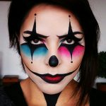 Make up pantomime - creative ideas in pictures for great makeup for Halloween and carnival - decoration house