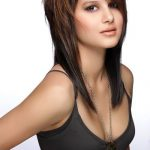 Medium length layered cut. Warm brown color with highlights. Beautiful for fall!... - Haircuts and Hairstyles