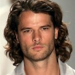 Men's Medium Brown Natural Wave Lace Front Wig 100% Human Hair 10 Inches