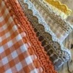 New crochet edging and borders easy beautiful ideas