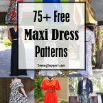 Over 75 Free Maxi Dress Patterns for Women