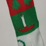 Personalized Hand Knitted Christmas stockings-Shop closed 2019-Stockings ordered now sent in 2020-Discount Coupon