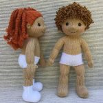 Play Pal Dolls Knitting pattern by Rainebo