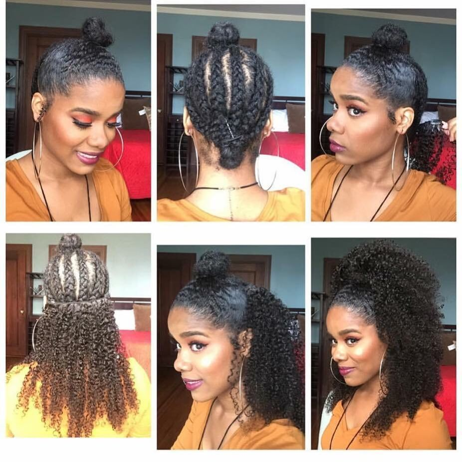 Pwigs.com sales online with high quality 3B 3C Kinky Curly Clip In Human Hair Ex…
