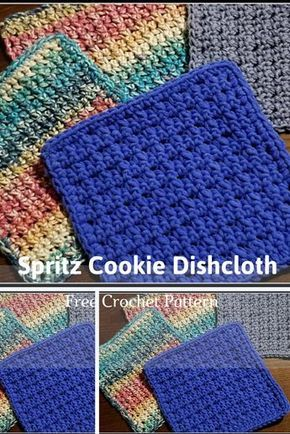 Quick And Easy Dishcloth Pattern – Knit And Crochet Daily