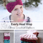 Quick And Easy Head Wrap Free Crochet Pattern That Fits Really Well (Child Size Available Too!) - Knit And Crochet Daily