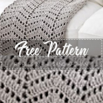 Ripples in the Sand Afghan – Free Pattern – Free Crochet