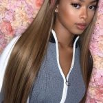 Rose Hair Human Virgin Brown Color Hair Lace Frontal Wig/Full Lace Wig/360 Lace Wig 150% Density The Same As The Hairstyle In The Picture