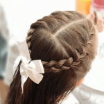 SO CUTE! ❤   Toddler Girl Hairstyles for School