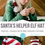 Santa's Helper Elves Hats Free Crochet Patterns - Free Crochet Patterns