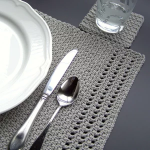 Simply Elegant Placemat Crochet pattern by ColorSpot Designs | Knitting Patterns | LoveKnitting
